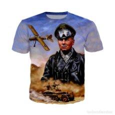 Militaria: CAMISETA ERWIN ROMMEL.AFRIKA KORPS.ALEMANIA II GUERRA MUNDIAL.. Lote 182724893