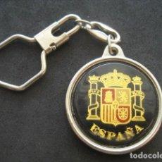 Militaria: LLAVERO ESCUDO DE ESPAÑA. Lote 183511932