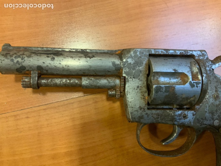 Militaria: Antiguo revólver finales s.xix, principios s.xx. Desconozco marca. Guerra civil? INUTILIZADO - Foto 3 - 184091283