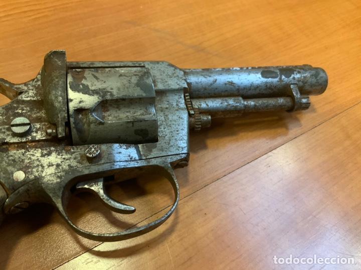 Militaria: Antiguo revólver finales s.xix, principios s.xx. Desconozco marca. Guerra civil? INUTILIZADO - Foto 5 - 184091283