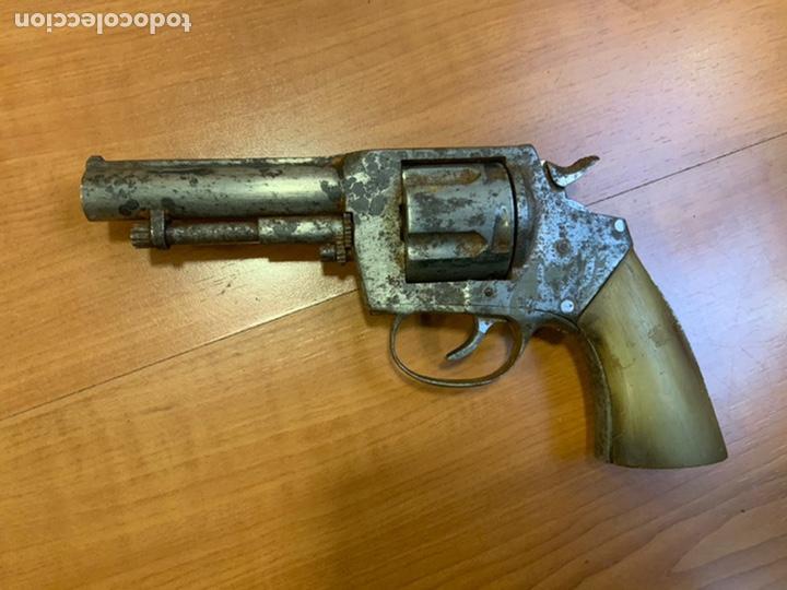 Militaria: Antiguo revólver finales s.xix, principios s.xx. Desconozco marca. Guerra civil? INUTILIZADO - Foto 8 - 184091283