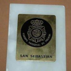 Militaria: METOPA POLICIA NACIONAL/METOPA CUERPO NACIONAL DE POLICIA SAN SEBASTIAN. Lote 184149288