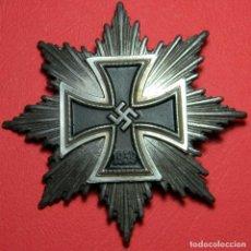 Militaria: LA GRAN CRUZ. VERSIÓN PLATA. DIMENSIONES: 88 MM X 88 MM. CRUZ DE HIERRO 1ª CLASE. CIERRE SCREWBACK. Lote 184380393