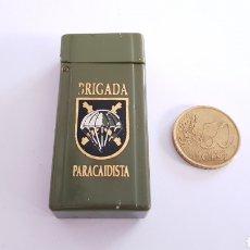 Militaria: BRIGADA PARACAIDISTA PIEZA ELABORADA ARTESANALMENTE GRABADA AL FUEGO Y LACADA SERIE LIMITADA !. Lote 184607748