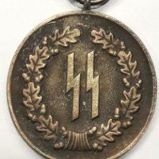 Militaria: MILITAR ALEMANIA:MEDALLA PERMANENCIA 4 AÑOS WAFFEN SS. Lote 184653152