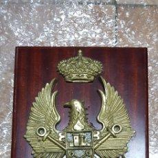 Militaria: METOPA EN BRONCE MILITAR CASTILLO DE S. JOAQUÍN S/C DE TENERIFE. Lote 184879193