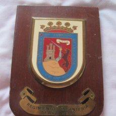 Militaria: METOPA MILITAR REGIMIENTO INFANTERIA ALAVA 22. Lote 185005297