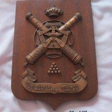 Militaria: METOPA MILITAR REGIMIENTO ARTILLERIA MIXTO 92 MENORCA. Lote 185019047