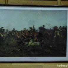 Militaria: LÁMINA ENMARCADA ÉPOCA NAPOLEÓNICA. Lote 185552042