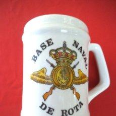 Militaria: JARRA BASE NAVAL DE ROTA.. Lote 186060742