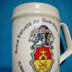 Militaria: JARRA DE MARINA ( BUQUE ESCUELA DE GUARDIAS MARINAS JUAN SEBASTIÁN DE ELCANO). Lote 187120723
