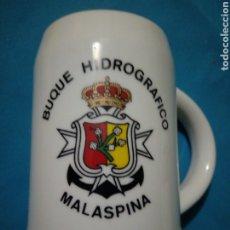 Militaria: JARRA DE MARINA ( BUQUE HIDROGRAFICO A - 31 MALASPINA ). Lote 187120987
