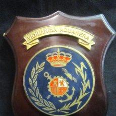 Militaria: METOPA ESCUDO VIGILANCIA ADUANERA. Lote 187157270