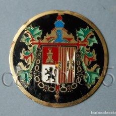 Militaria: PLACA METÁLICA LEGIÓN -3 º TERCIO D. JUAN DE AUSTRIA - 8ª BANDERA. Lote 189219008
