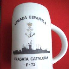 Militaria: JARRA FRAGATA CATALUÑA. Lote 189752523