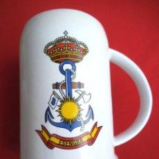 Militaria: JARRA E.S.E.G.R.A. ESCUELA DE ESPECIALIDADES DE LA ESTACIÓN NAVAL DE LA GRAÑA. Lote 189752655