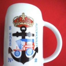 Militaria: JARRA PARQUE DE AUTOMOVILES Nº 2 DE FERROL. Lote 189753048
