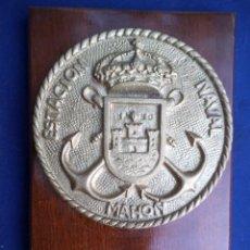 Militaria: METOPA ESTACIÓN NAVAL DE MAHON . Lote 190459870