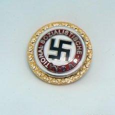 Militaria: INSIGNIA NAZI . DAP. GOLDENES PARTEIABZEICHEN. Lote 222356385