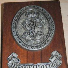 Militaria: MAGNIFICA METOPA DE LA 111ª COMANDANCIA DE LA GUARDIA CIVIL. Lote 191413920
