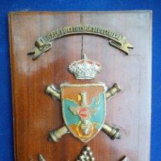 Militaria: METOPA BRIGADA DE ARTILLERIA EL ESTRECHO CURTEL GENERAL. Lote 191514397