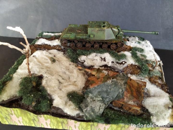 ISU-122 Y HETZER. HUNGRÍA PRIMAVERA DE 1945. DIORAMA ESCALA 1/72 (Militar - Reproducciones, Réplicas y Objetos Decorativos)