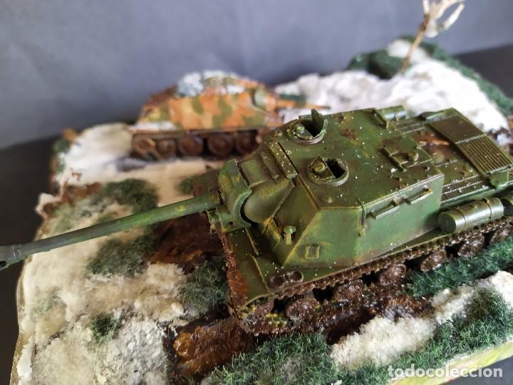 Militaria: ISU-122 Y HETZER. HUNGRÍA PRIMAVERA DE 1945. DIORAMA ESCALA 1/72 - Foto 2 - 191549996