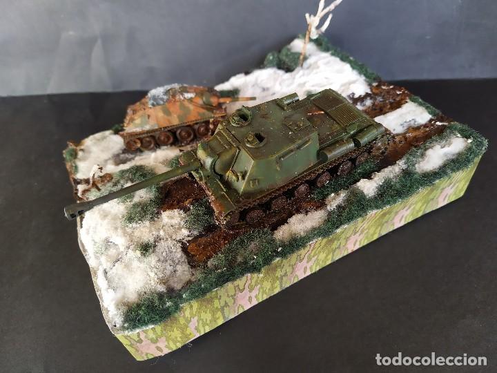Militaria: ISU-122 Y HETZER. HUNGRÍA PRIMAVERA DE 1945. DIORAMA ESCALA 1/72 - Foto 7 - 191549996