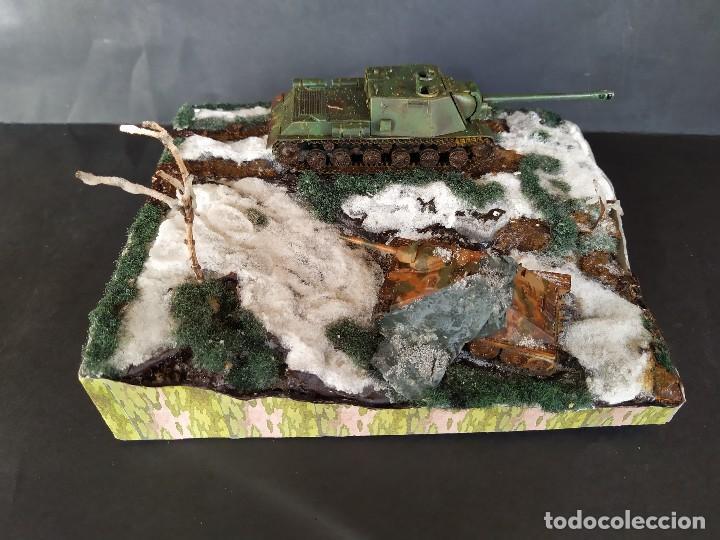 Militaria: ISU-122 Y HETZER. HUNGRÍA PRIMAVERA DE 1945. DIORAMA ESCALA 1/72 - Foto 9 - 191549996