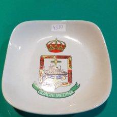 Militaria: CENICERO BUQUE DRAGAMINAS, GUADALMINA M-42. Lote 191927563