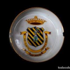 Militaria: CENICERO R.C.Z.M. LEGAZPI XXIII PORCELANA BIDASOA. Lote 192161617