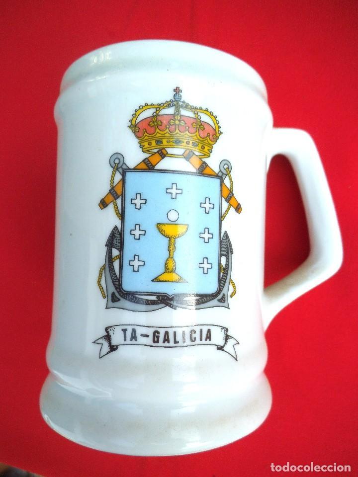 JARRA TRANSPORTE DE ATAQUE GALICIA (Militar - Reproducciones, Réplicas y Objetos Decorativos)