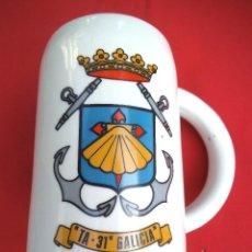 Militaria: JARRA TRANSPORTE DE ATAQUE GALICIA TA-31, ÉPOCA FRANCO.. Lote 192563706