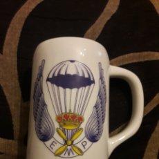 Militaria: JARRA DE PORCELANA, EMP, EJÉRCITO ESPAÑOL. Lote 194089741