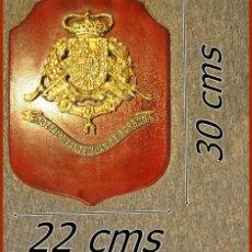 Militaria: 133..METOPA F102 ALTE JUAN DE BORBÓN....MEDIDAS 30 X 22 CMS.....PESO 1,450KGS. Lote 194285116