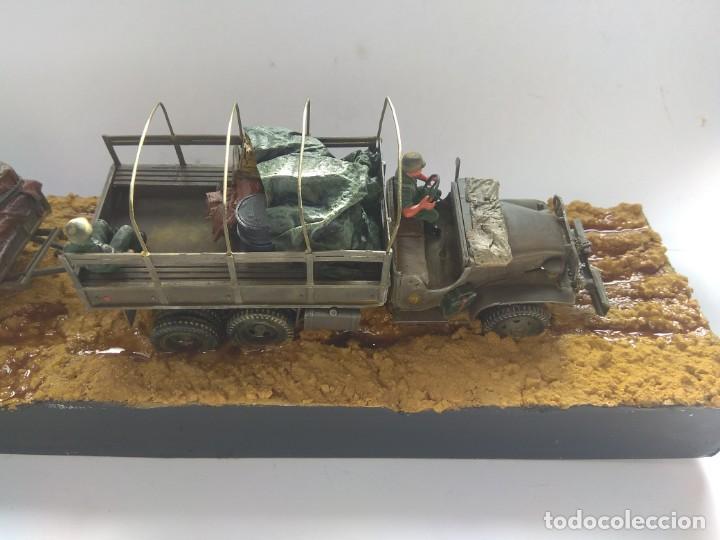 Militaria: DIORAMA MAQUETA -GMC R.A.A.A. 71-II GRUPO.GETAFE 1980 - Foto 4 - 194291752