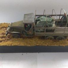 Militaria: DIORAMA MAQUETA GMC-ACADEMIA DE AUTOMOVILISMO-ET -VILLAVERDE 1980. Lote 194292122