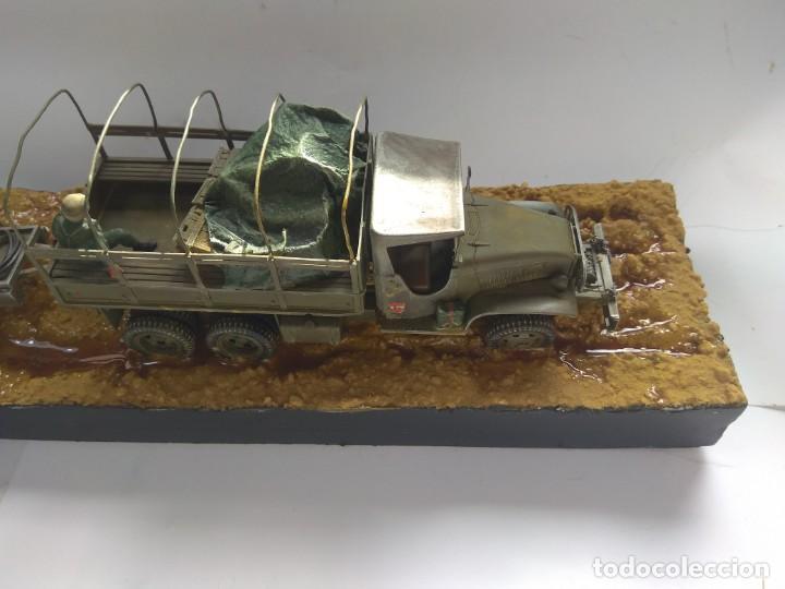 Militaria: DIORAMA MAQUETA GMC-ACADEMIA DE AUTOMOVILISMO-ET -VILLAVERDE 1980 - Foto 4 - 194292122