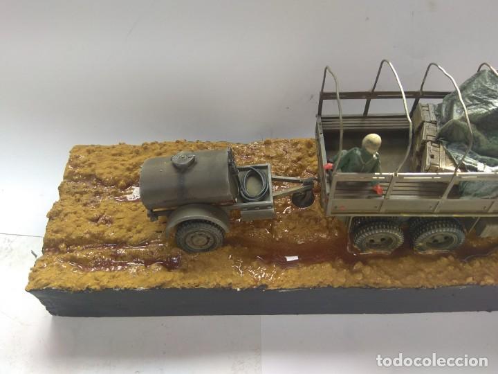 Militaria: DIORAMA MAQUETA GMC-ACADEMIA DE AUTOMOVILISMO-ET -VILLAVERDE 1980 - Foto 6 - 194292122