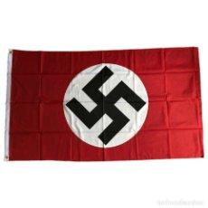 Militaria: BANDERA NSDAP 90 X 150 CM ALEMANIA TERCER REICH PARTIDO NAZI. Lote 194343196