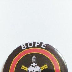 Militaria: CHAPA DEL BOPE - IMAN DE 58 MM. Lote 194613680
