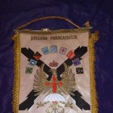 Militaria: BANDERIN BRIGADA PARACAIDISTA. Lote 194637732