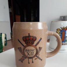 Militaria: RARISIMA JARRA BRIAC XII. LOZA DE VALDEMORILLO. Lote 195110370