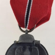 Militaria: MEDALLA DEL PRIMER INVIERNO EN RUSIA. 1941-1942. WINTERSCHLACHT IM OSTEN TERCER REICH. Lote 195154662