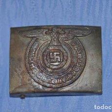 Militaria: BUCKLE SS- 3 REICH ALEMANIA. Lote 195288563