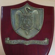 Militaria: METOPA MILICIA NAVAL UNIVERSITARIA. Lote 195291317
