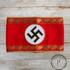 Militaria: BRAZALETE NSDAP KREIS LEVEL ADMINISTRACIÓN DE LÍDER Y POLÍTICA. Lote 198955067