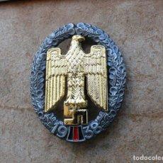 Militaria: INSIGNIA AQUILA 1938.TERCER REICH. NAZI. Lote 201255973