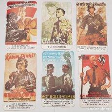 Militaria: PEGATINA TEMA NAZI, HITLER, EJERCITO ALEMAN , HONOR,FALANGE, BANDERA, FRANC0. Lote 40166500