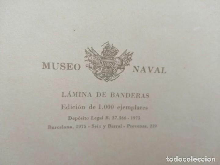 Militaria: Banderas que las naciones arbolan en la mar- MDCCVI - Museo Naval-1975 - Foto 2 - 201953247